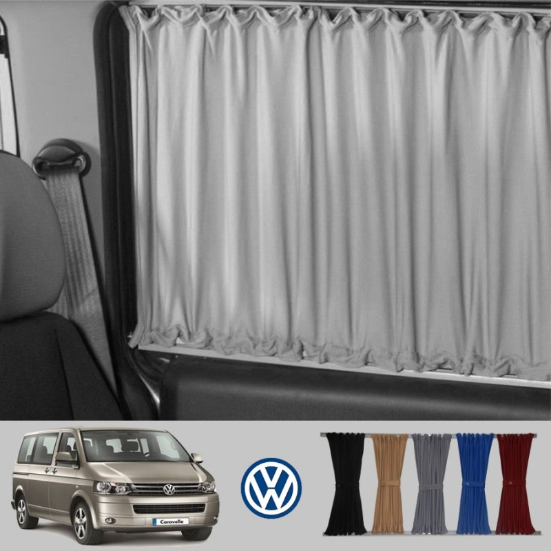 vw transporter  caravelle eurovan multivan curtain kit